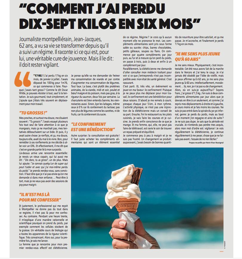 Gazette de Montpellier témoignage Jean-Jacques