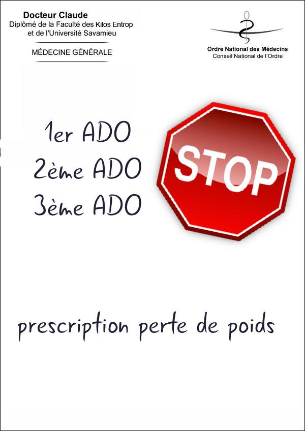 Prescription perte de poids