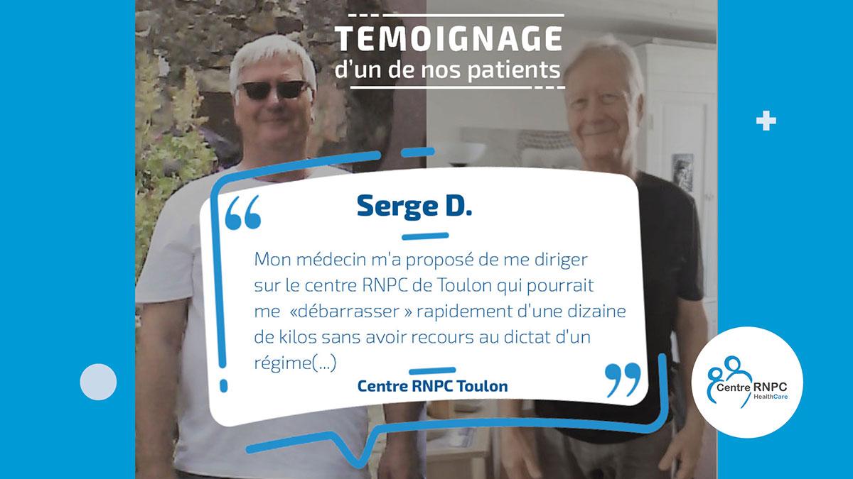 Témoignage patient RNPC - Serge