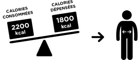 Calories dépensées