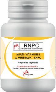 Multi vitamines minéraux RNPC