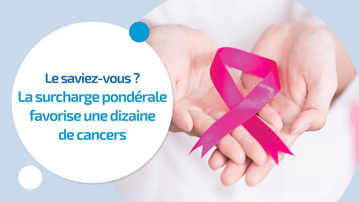 Surcharge pondérale et cancer